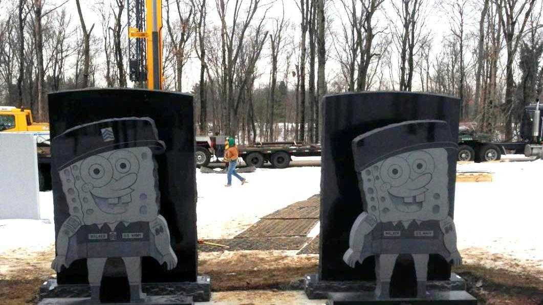 new SpongeBob headstone 1