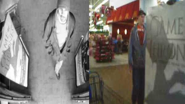 Walmart iPhone thieves surveillance