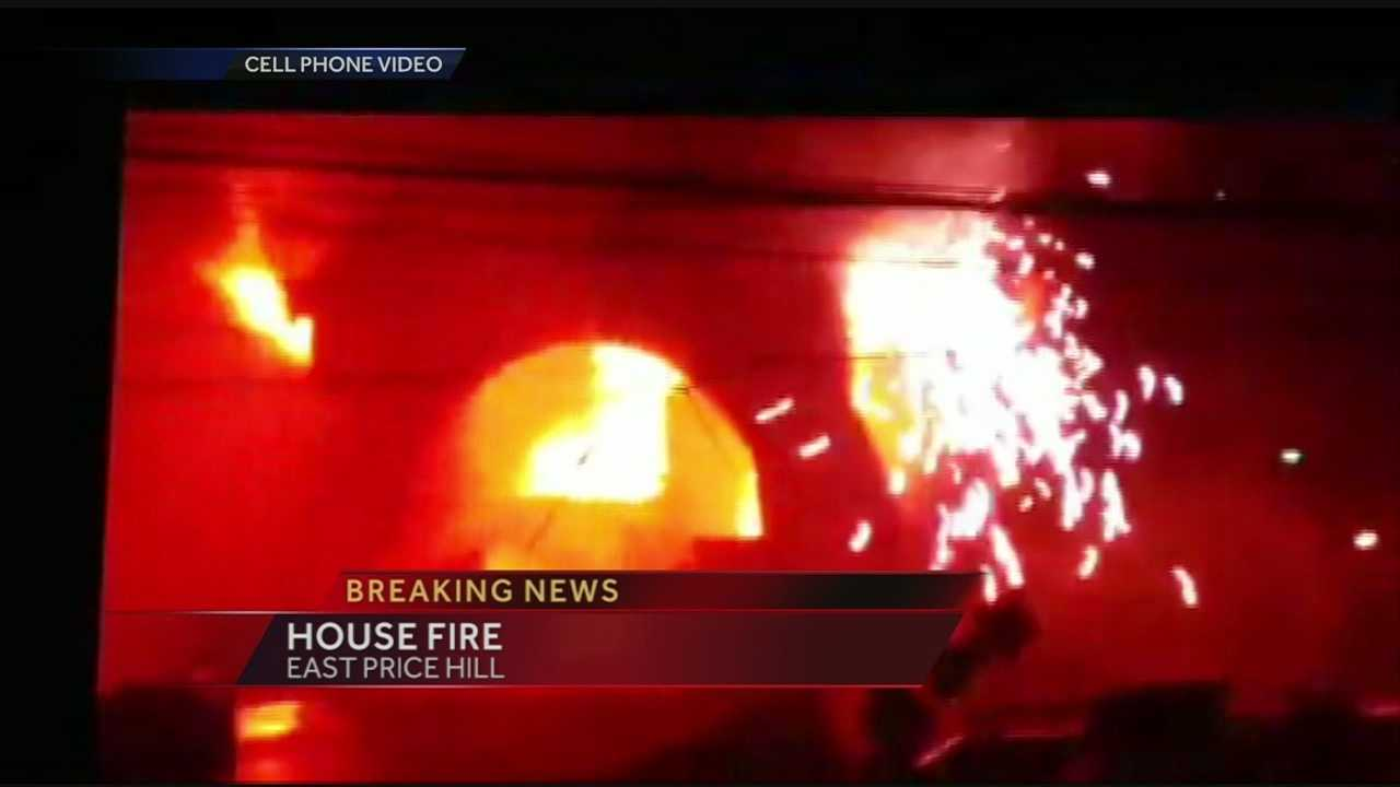 Family escapes East Price Hill house fire
