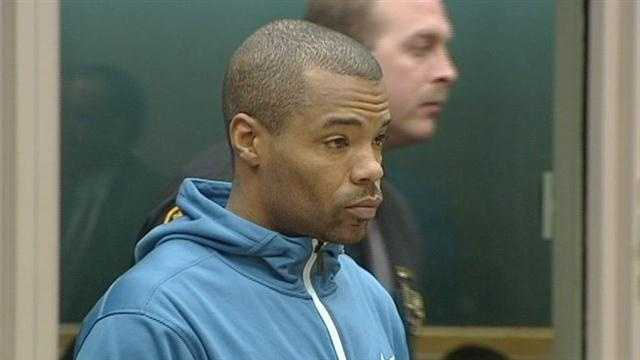 Raw: Artrell Hawkins appears in court on domestic violence charges