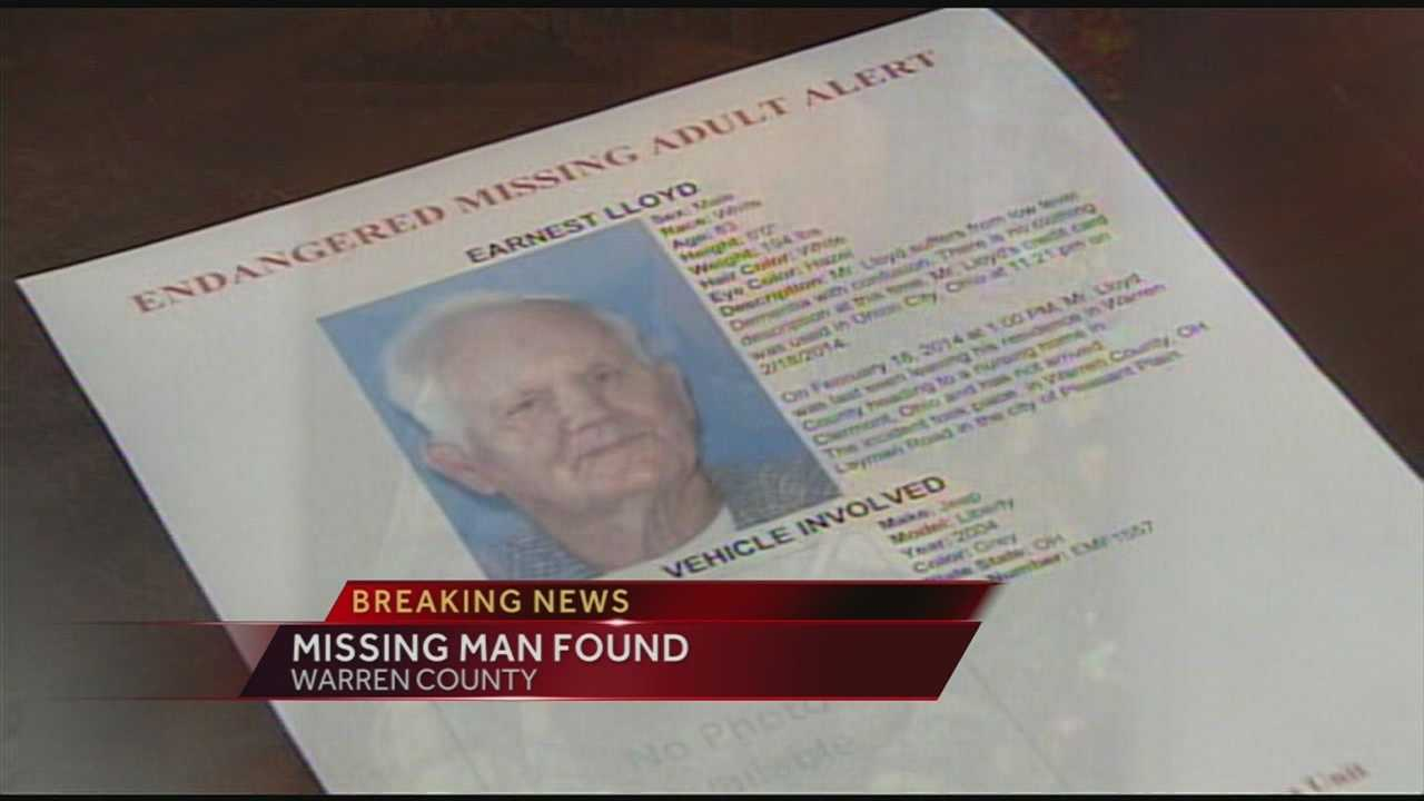Earnest Lloyd, 83, was found at Lowe's in Milford on Wednesday evening.