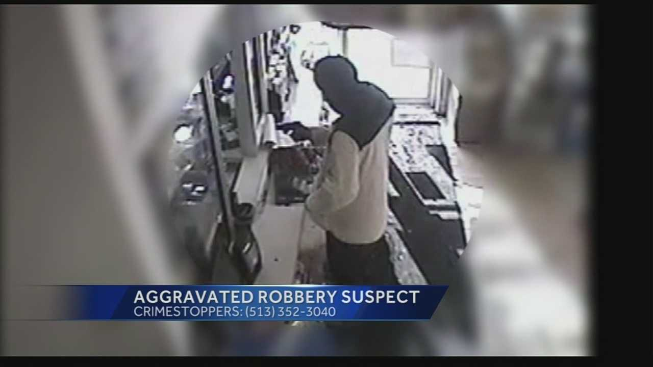 Aggreved Robbery surveillance tape