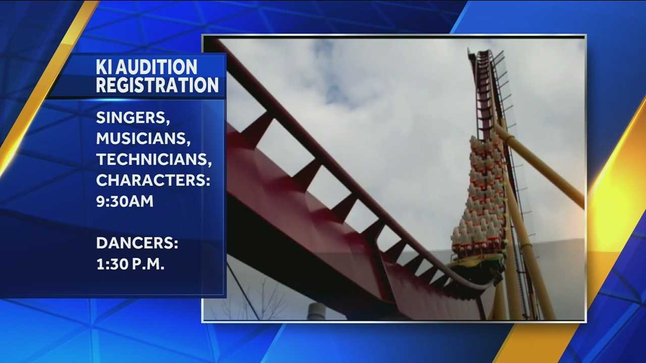 Kings Island holding open auditions Sunday