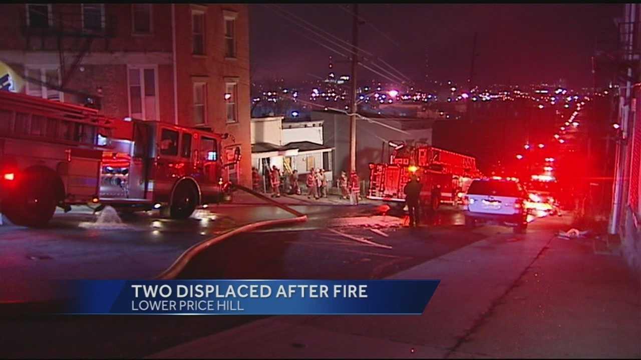 Lower Price Hill fire on Gest Street