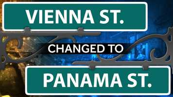 Panama Street is in California, Ohio, right on the Ohio River.