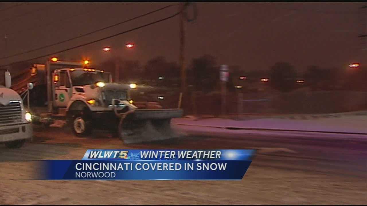 Winter storm brings 3 rounds of snow, sleet, freezing rain
