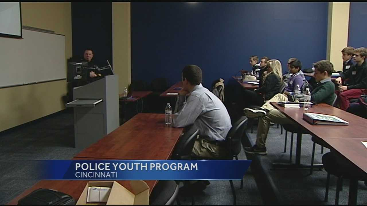 Some high school students attended the Cincinnati Police Academy as part of the Youth Leadership Program. The experience gave the students a taste of real world decision making, and gave them opportunities to learn more about leadership.