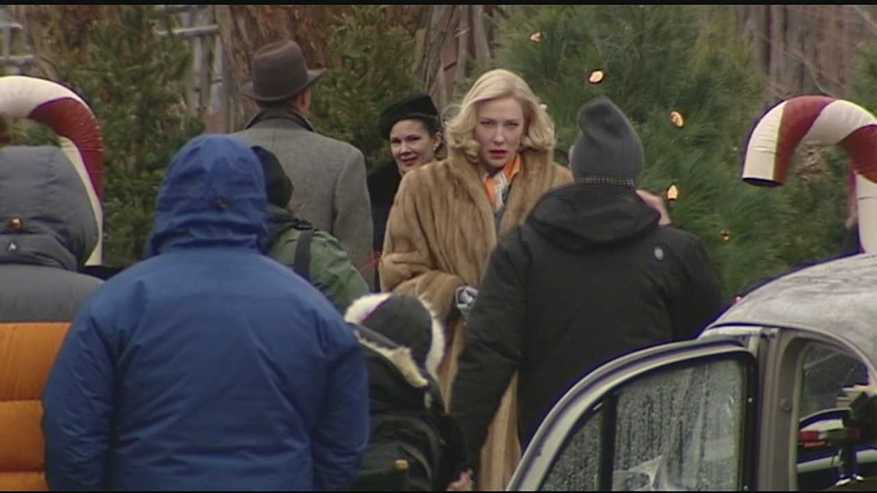 Cate Blanchett begins filming new movie in Cincinnati