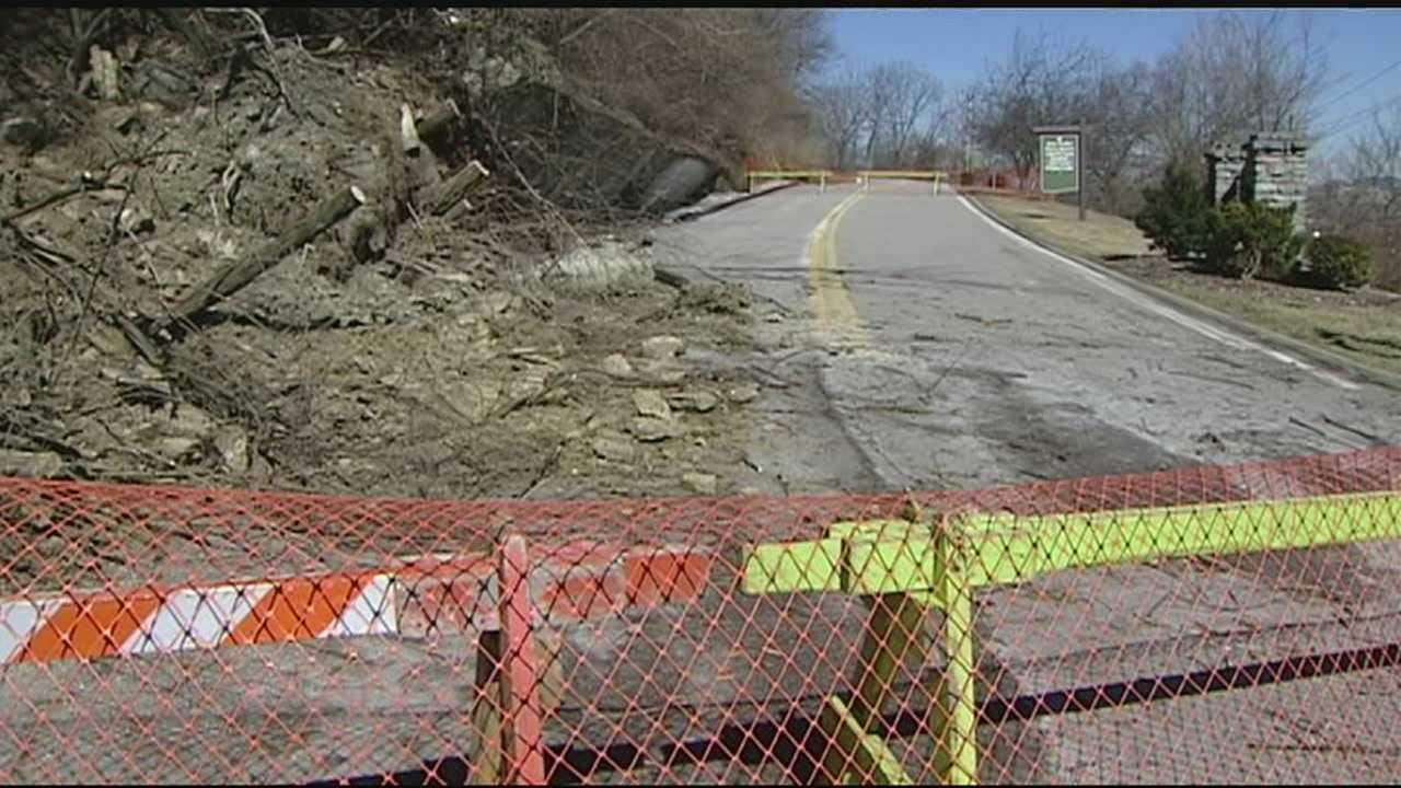 Devou Drive landslide