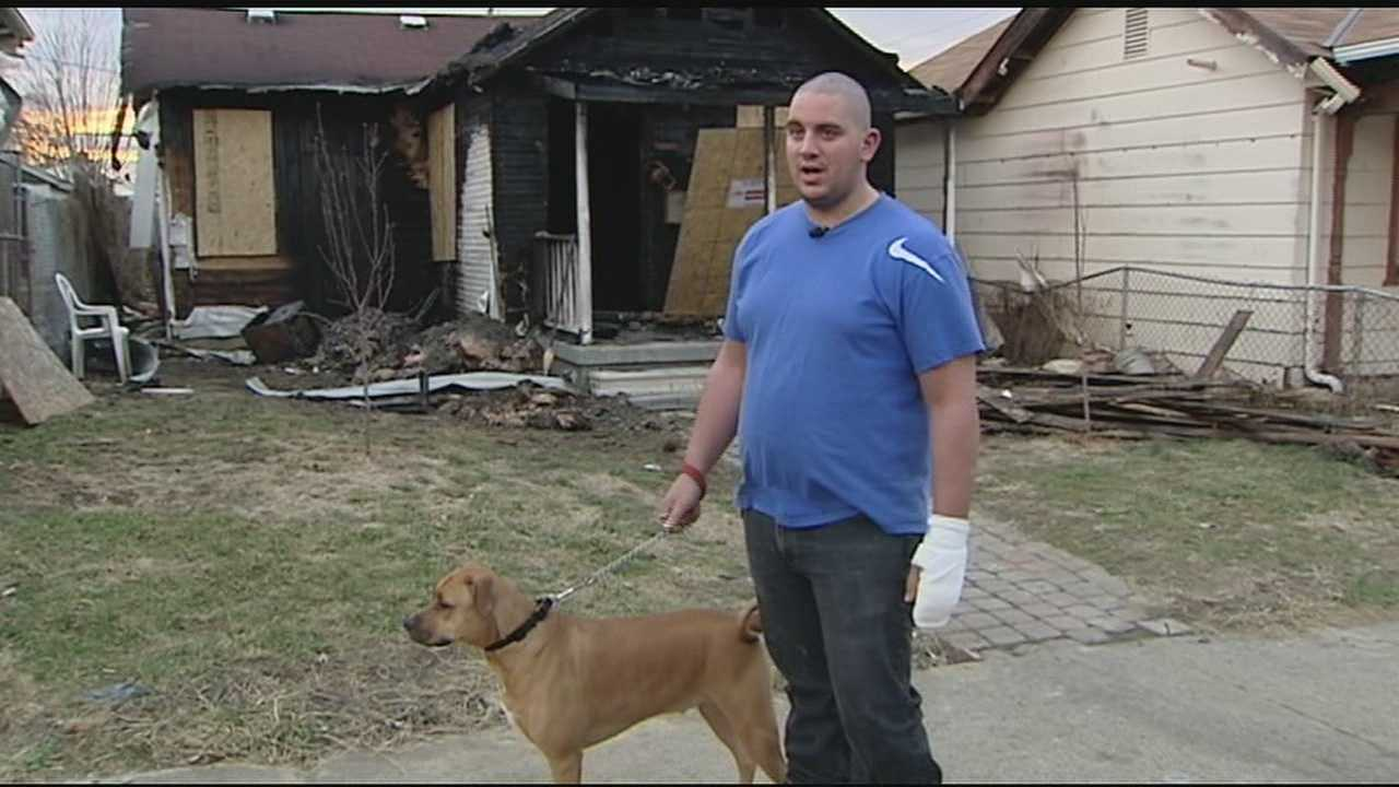 Dog saves homeowners from house fire
