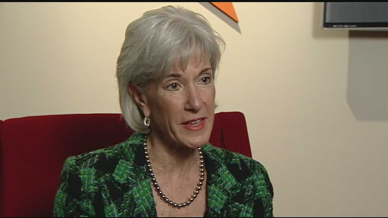 Health and Human services secretary discusses health care law