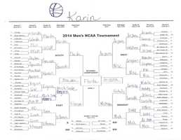 Click here to take a closer look at Karin Johnson's bracket