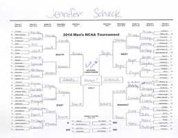 Click here to take a closer look at Jennifer Schack's bracket