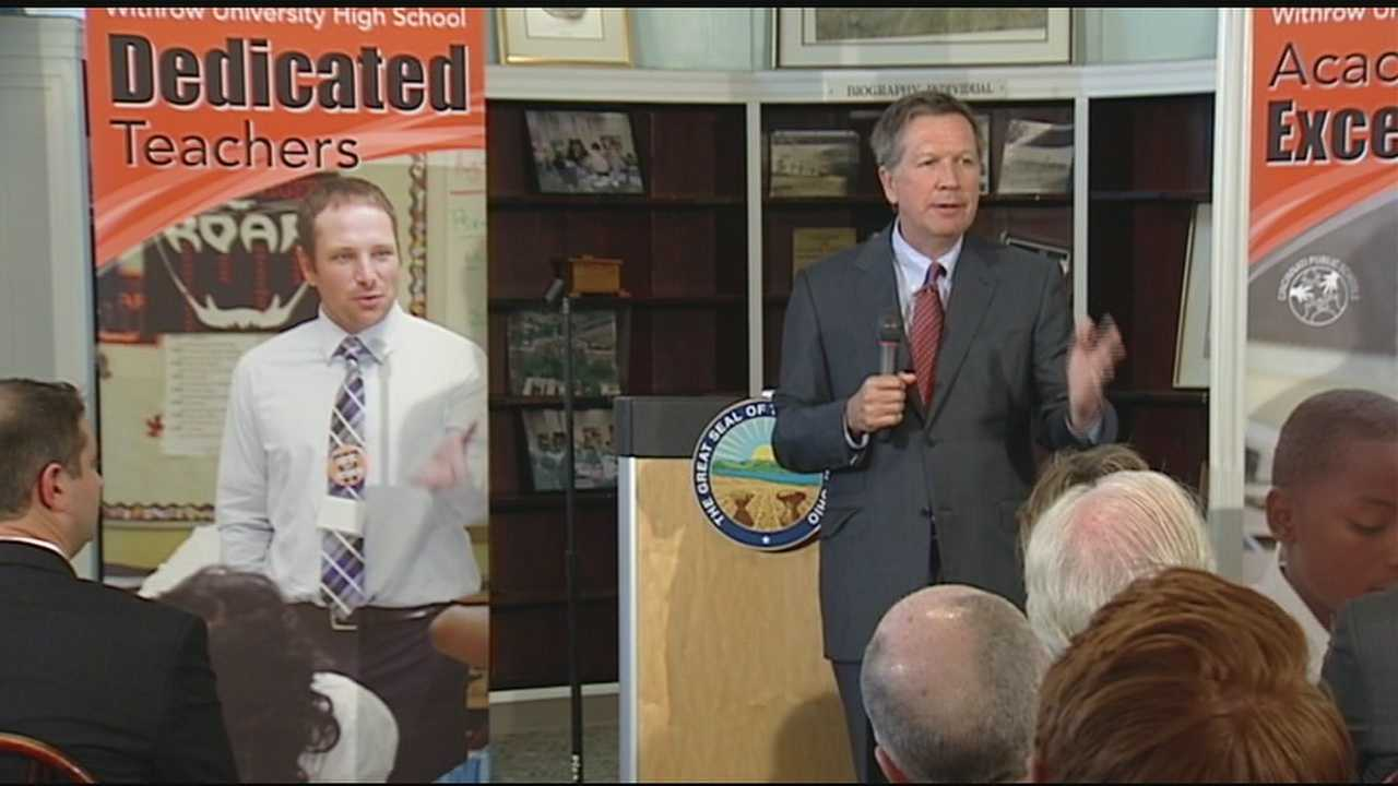 Gov. Kasich at Withrow