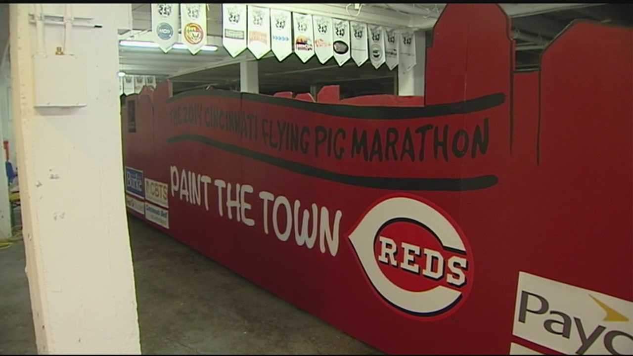 Organizations make final preps to floats for Opening Day Parade