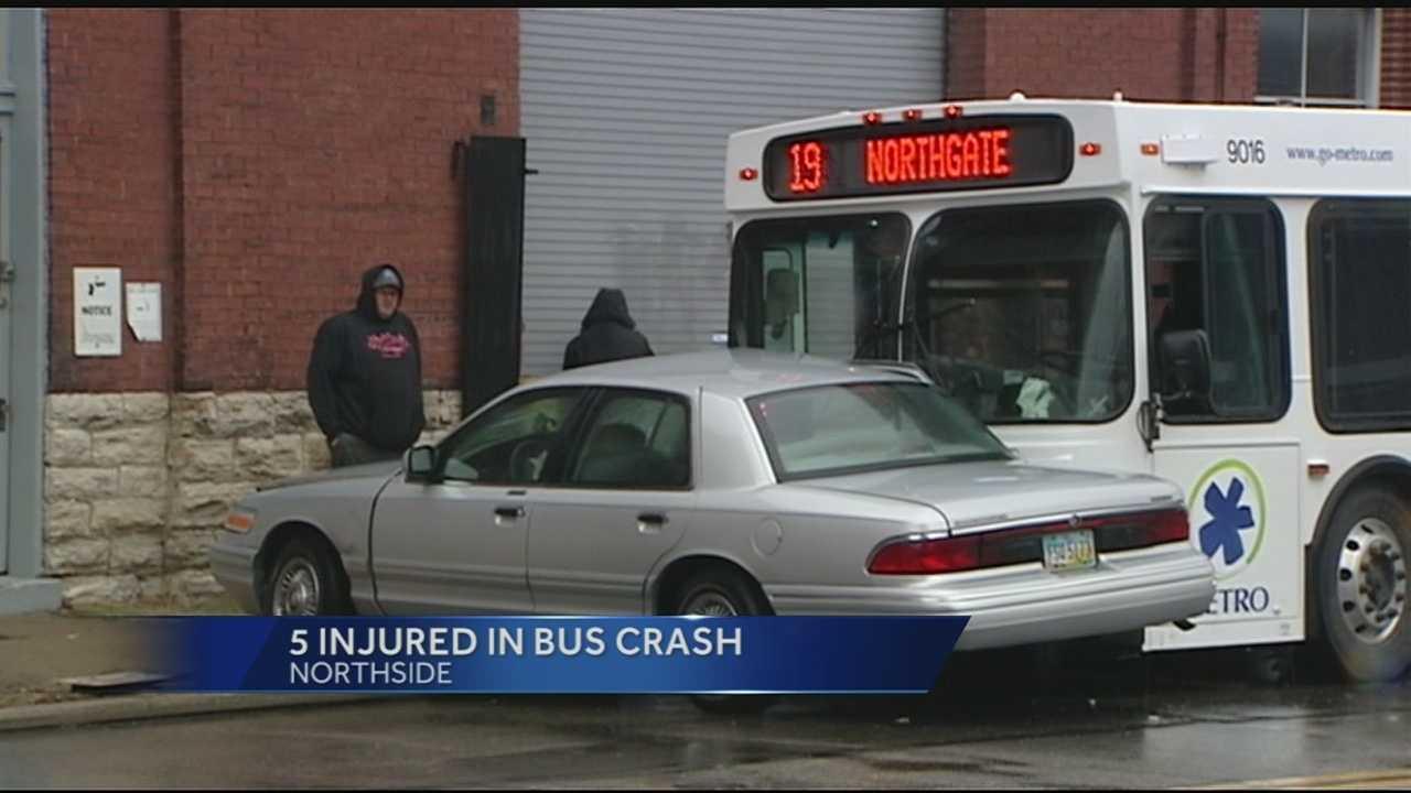 metro, bus car collide Northside.jpg