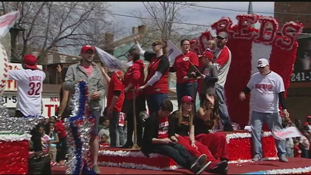 Opening Day parade kicked off Monday
