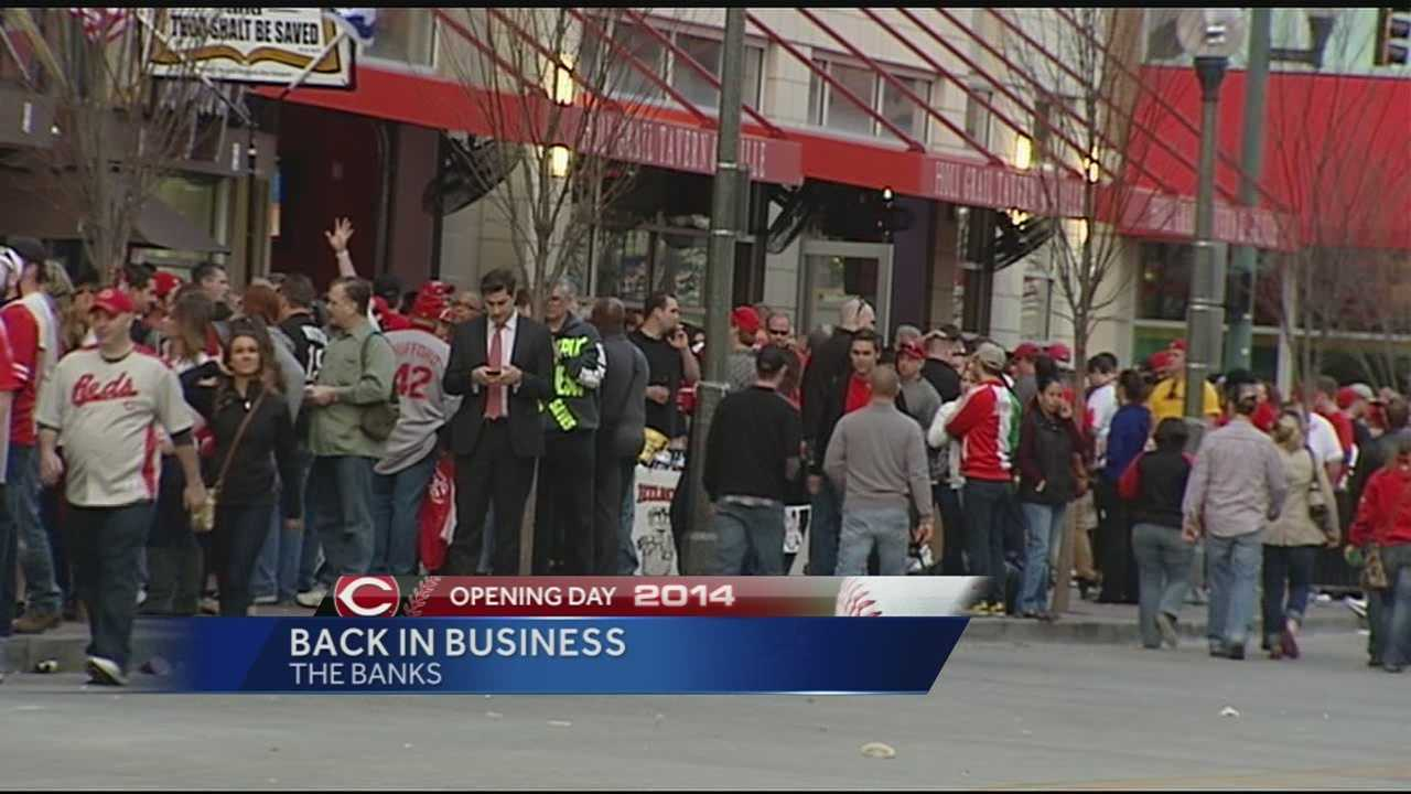 Opening Day brings business to The Banks