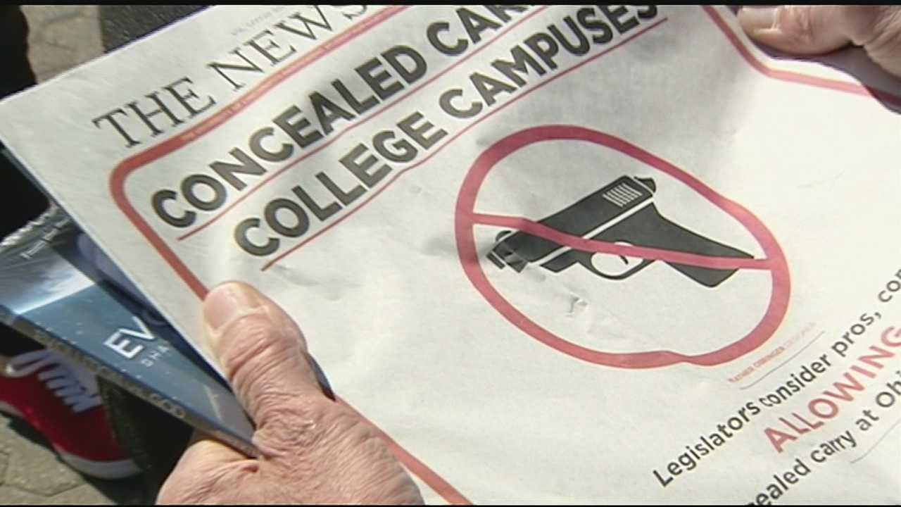 Legislators push to loosen restrictions on conceal carry on campuses