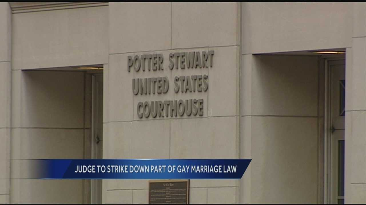 Judge plans to strike down Ohio voter-approved gay marriage ban