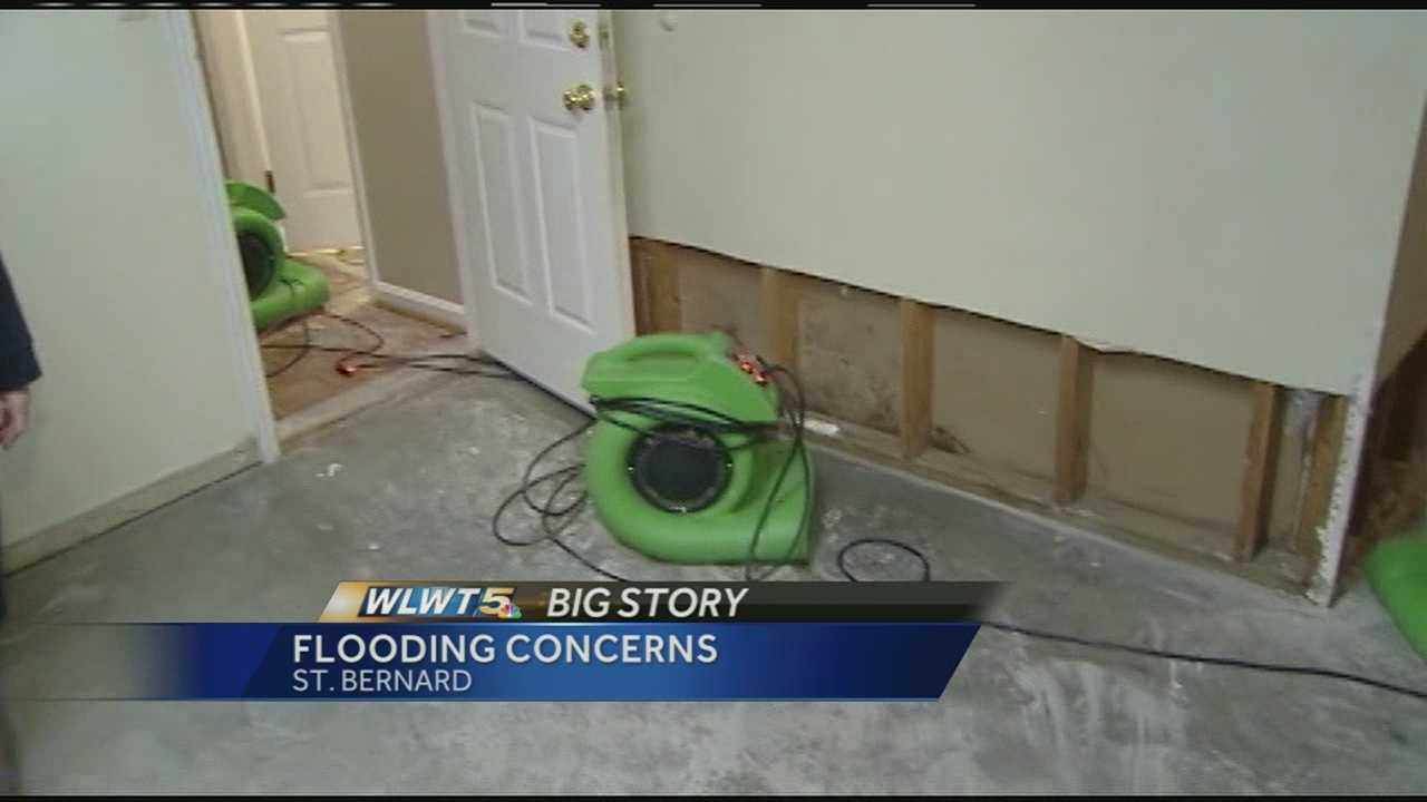 After flooding rains last week, residents on edge as rain moves back in