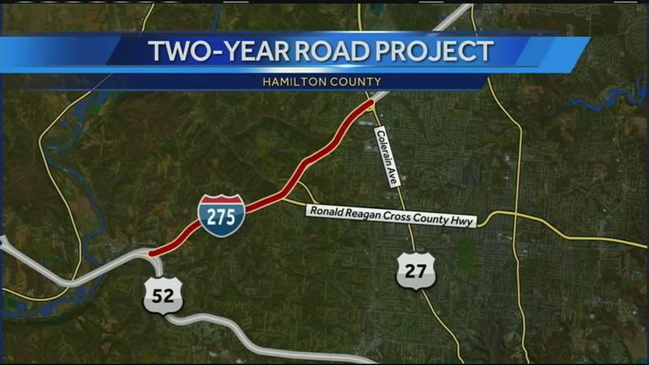 Construction project begins on I-275 in Colerain Township