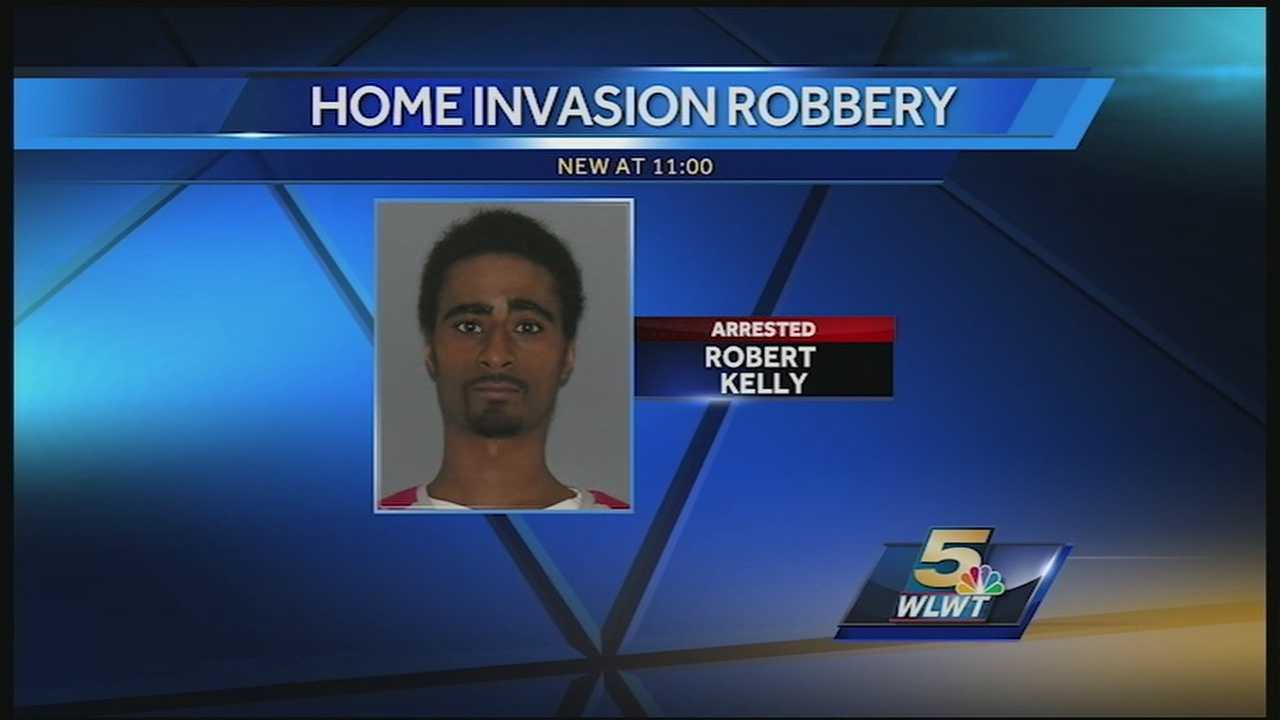 Robber outgunned when he tried to rob homeowners Monday