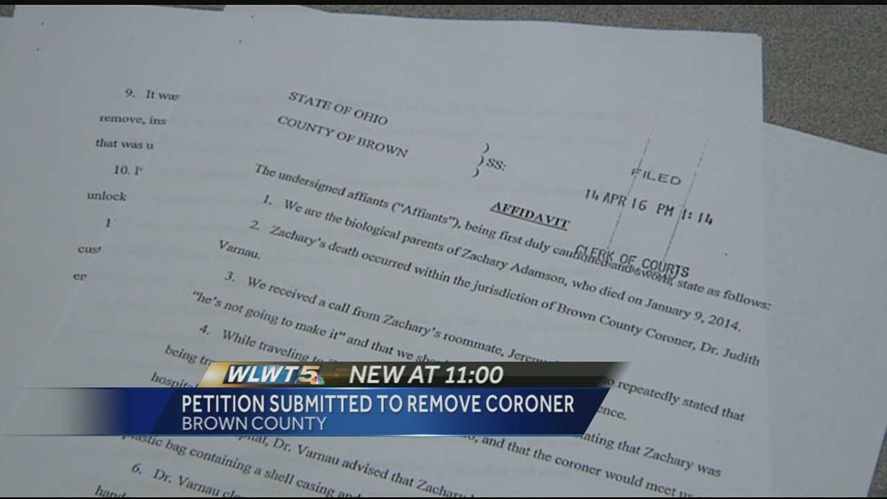 Thousands sign petition to have Brown Co. coroner removed from office