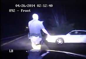 Brockman stops another man who was leaving the party on foot and determines that he is sober and walking to his car.