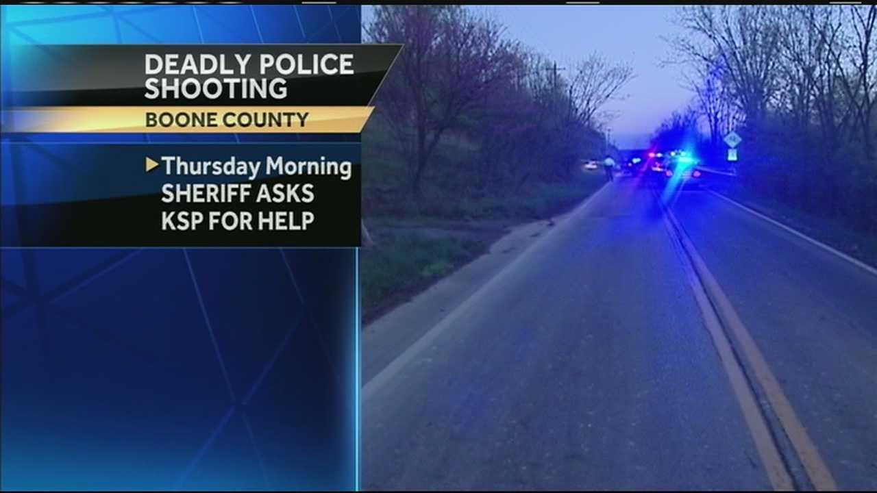 KSP will not investigate fatal officer-involved shooting