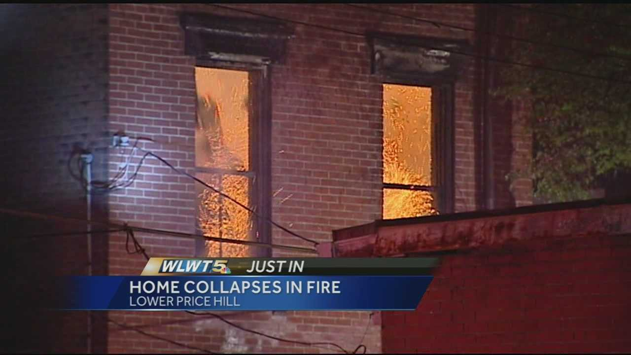 Vacant home catches fire in Lower Price Hill