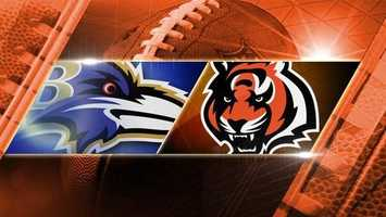 Week 8: Ravens at Bengals: The Baltimore Ravens come to Cincinnati on Sunday, Oct. 26 at 1 p.m.