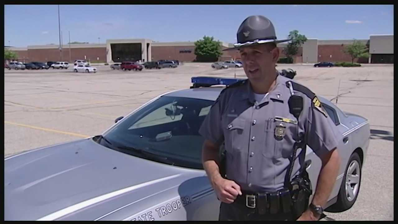 Drivers, police hit the roads in holiday weekend traffic