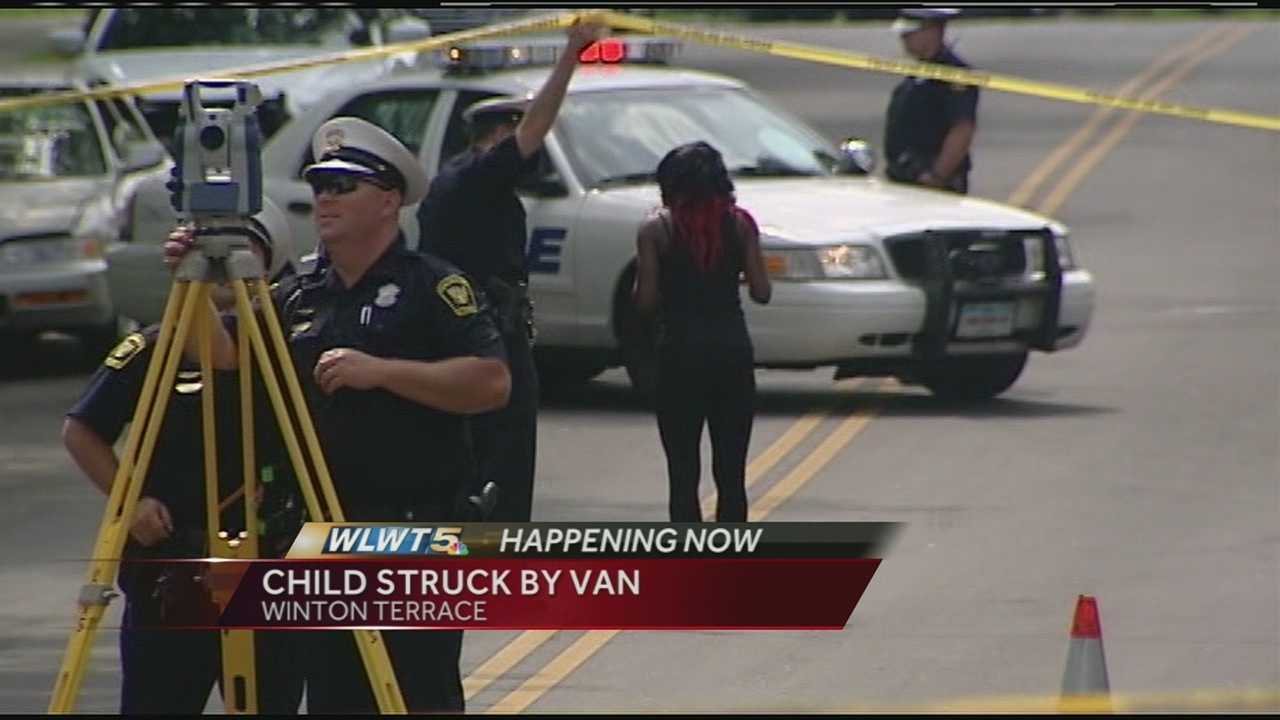 Emergency crews responded to a 3-year-old child that was hit by a minivan in Winton Terrace Monday. The boy was taken to Children's Hospital with a head injury. He is listed in critical condition.