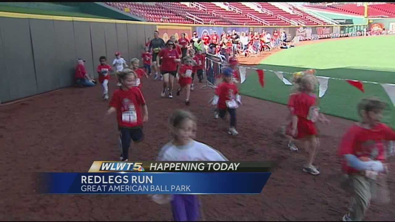 Saturday marks the 13th annual Redlegs Run 5K and 10K races to raise money for the Reds Community Fund and youth baseball across the Tri-State. Organizers said about 5,000 people showed up for the race and they expect to raise about $200,000.