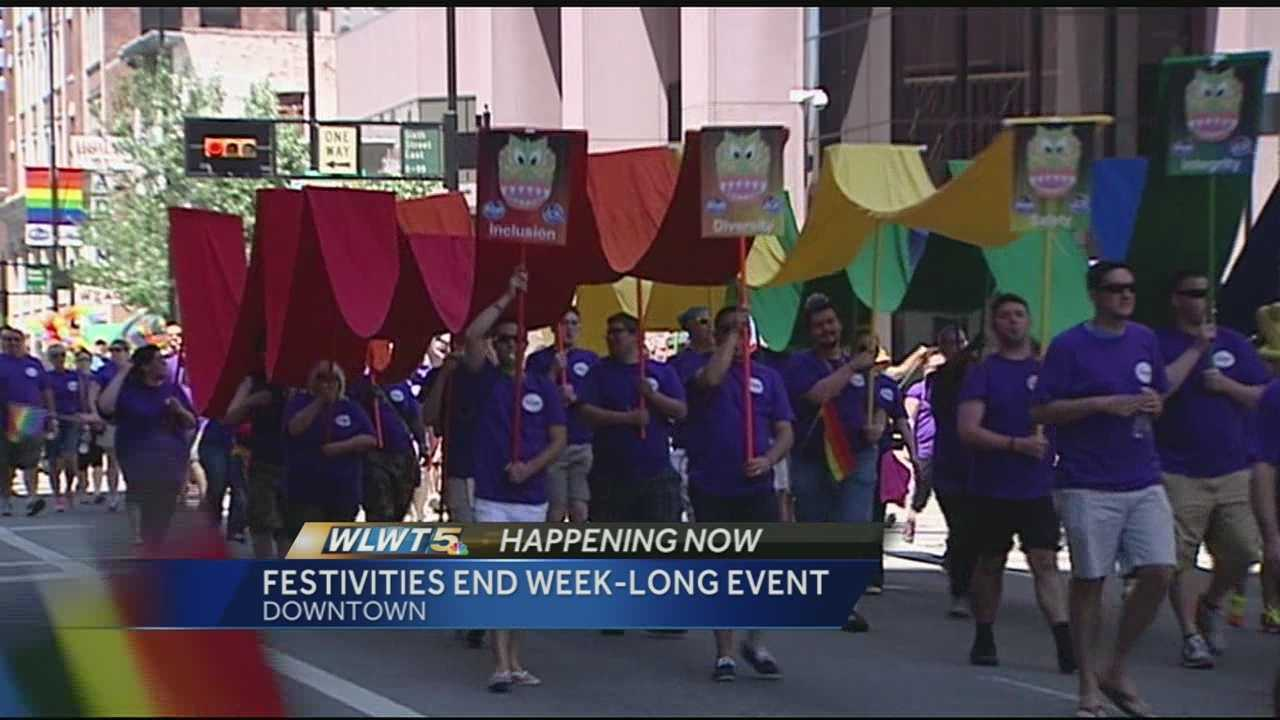 Cincinnati's LGBT community celebrates end of week-long push for gay rights
