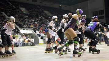 """Cincinnati Rollergirls home season finale June 7Location: Cincinnati Gardens, 2250 Seymour Ave.This is Fan Appreciation Night, home season finale and maybe even the LAST game at the Cincinnati Gardens. The venue is still up for sale so the future is uncertain. Enjoy your """"maybe"""" last match at the Gardens starting at 6 p.m. (and it's a double-header!).Visit their website"""