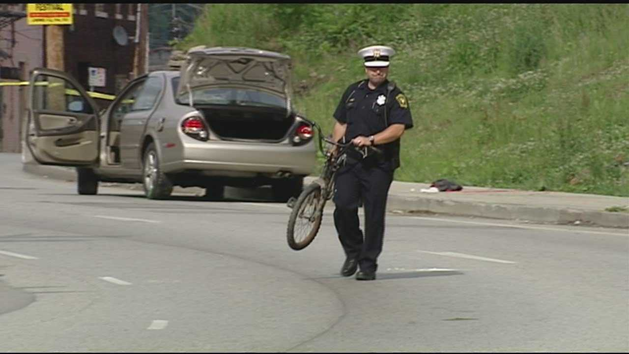 Police said the woman failed to maintain control of the vehicle, struck the curb and left the roadway.