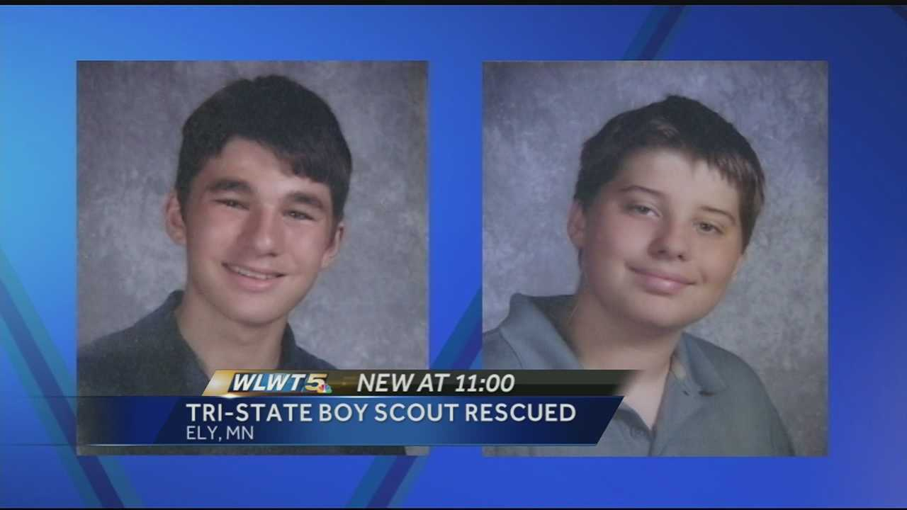 Tri-State Boy Scouts rescued from Minnesota lake