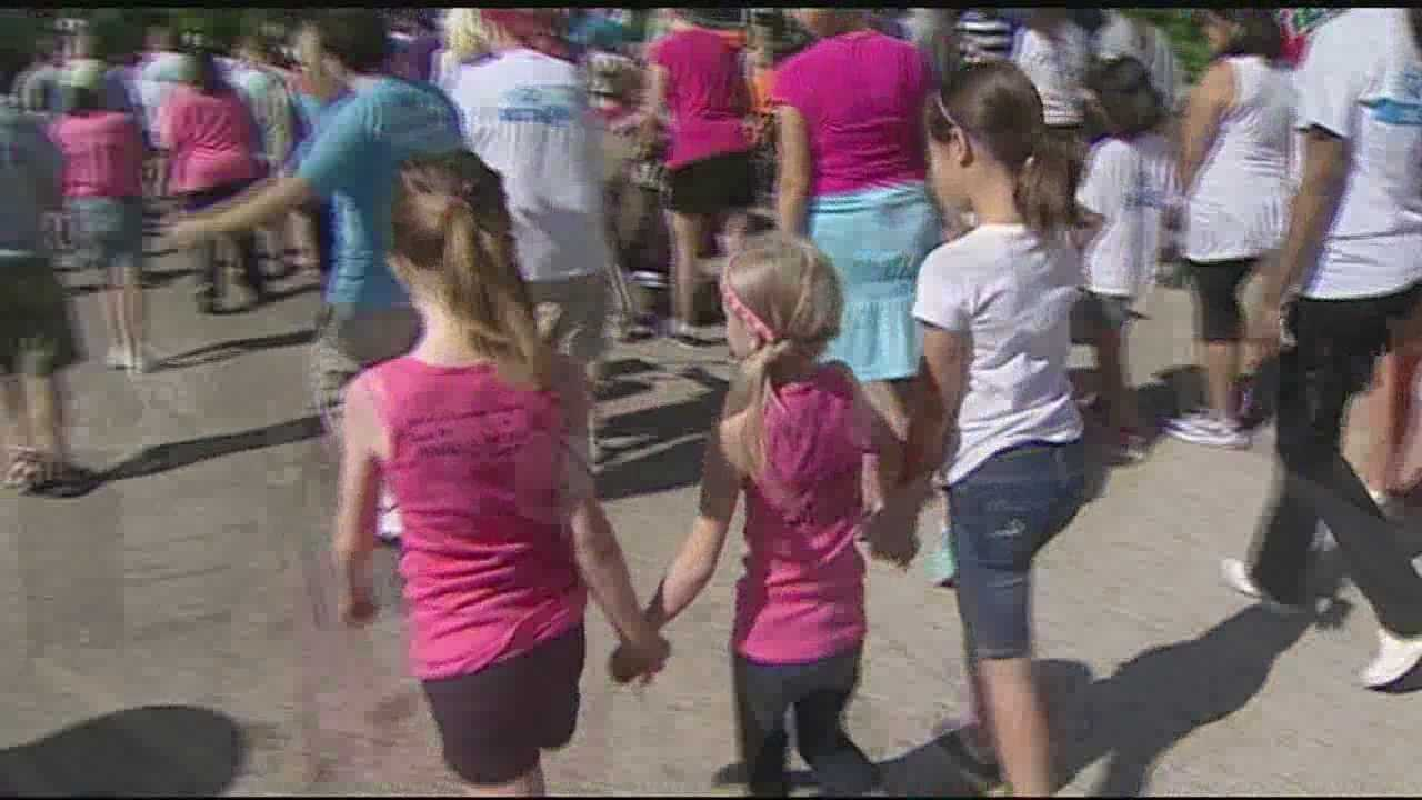 The event raises funds to grant the wishes of children battling life-threatening medical conditions, organizers said.