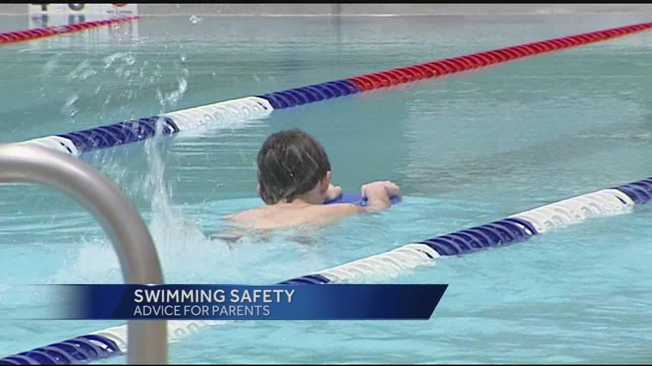 Cincinnati Fire Chief RIchard Braun, warns parents and kids about summer swimming.