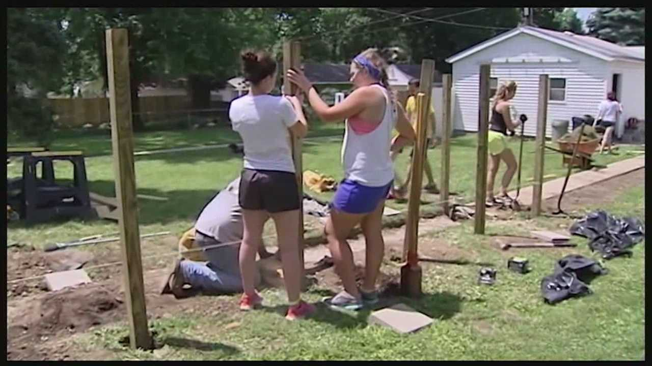 Teens restore homes in Hamilton