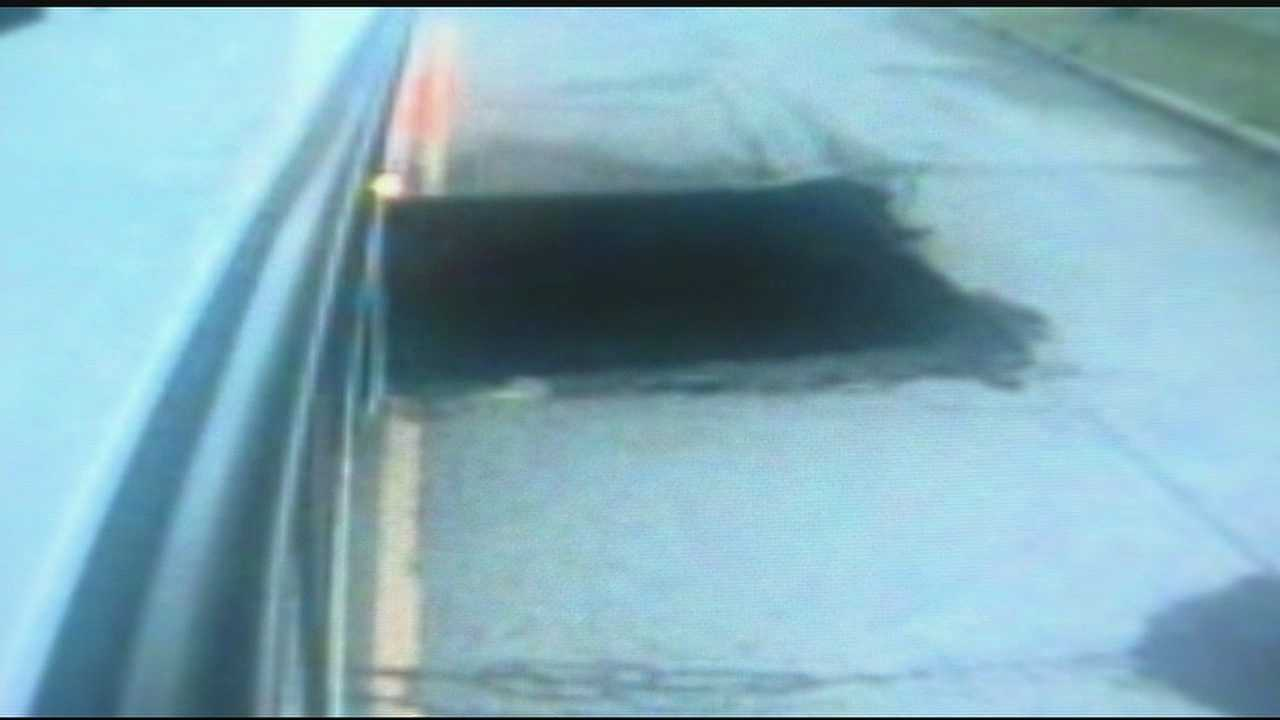 New video released of Metro Bus falling into sinkhole