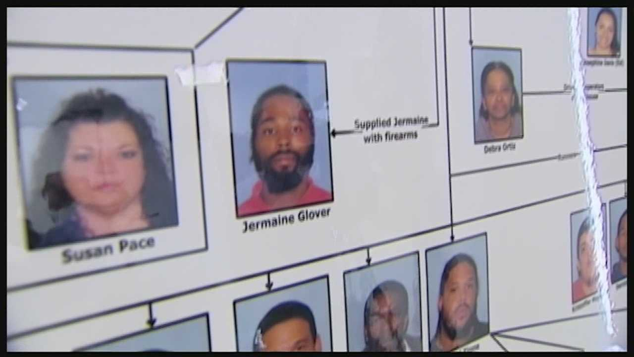 72 face charges in massive drug roundup
