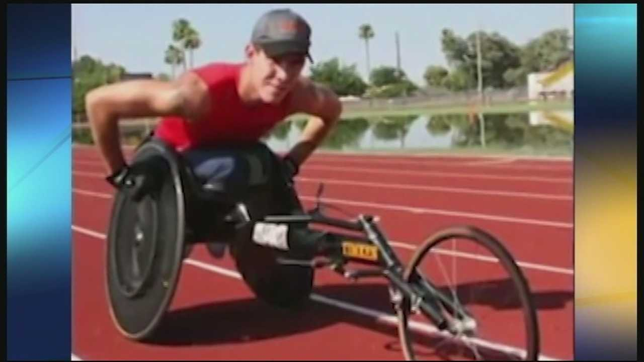 Family recovers stolen paralympic racing wheelchair
