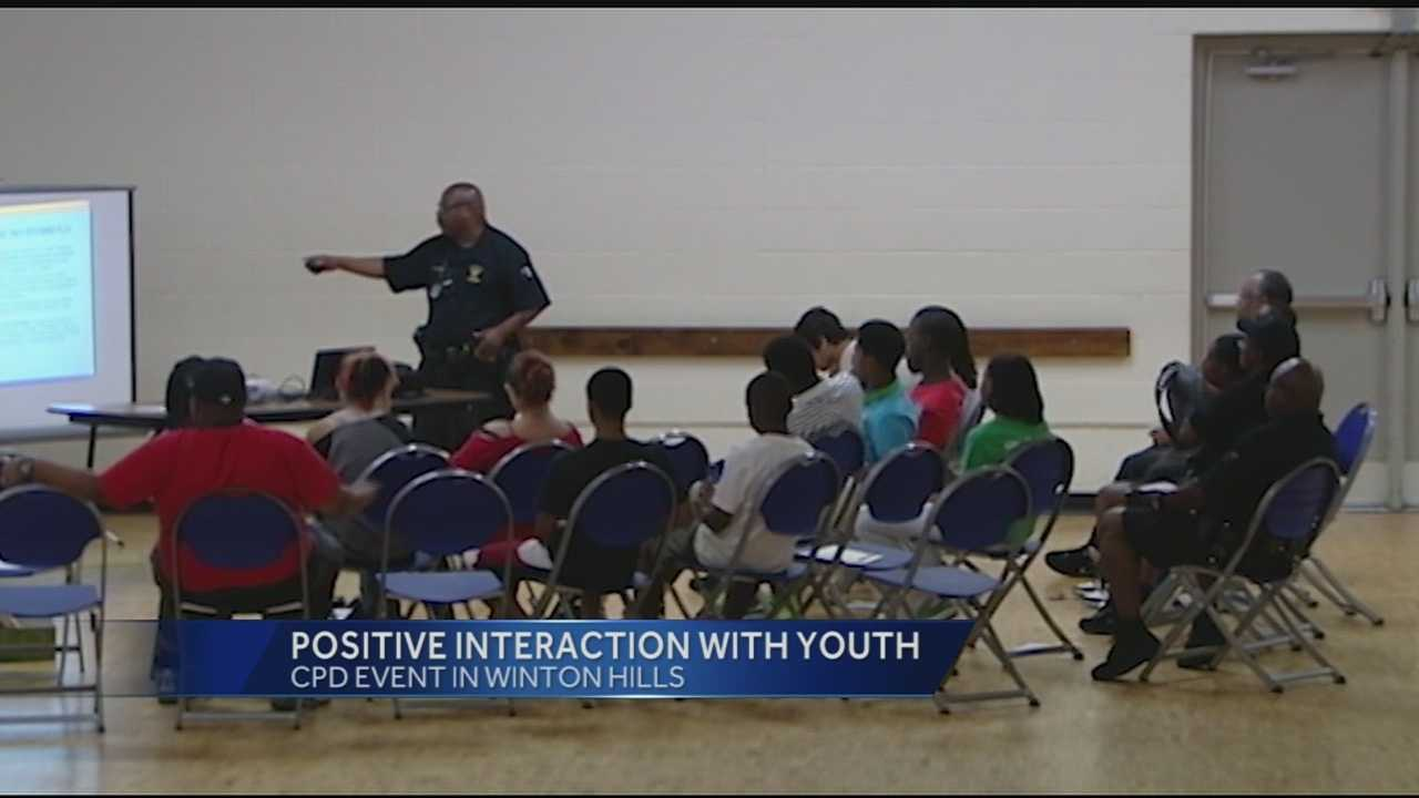 Cincinnati police creating positive interactions with community youth