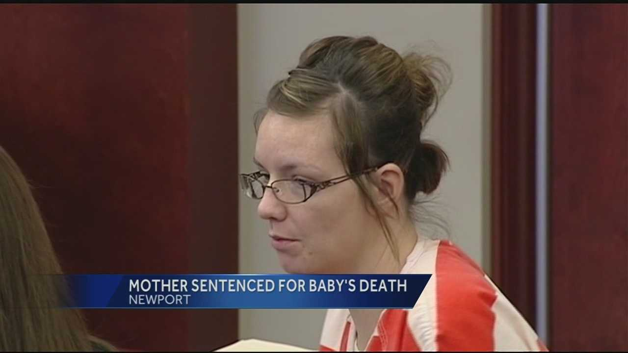 Newport mother sentenced to 5 years for baby's bathtub drowning