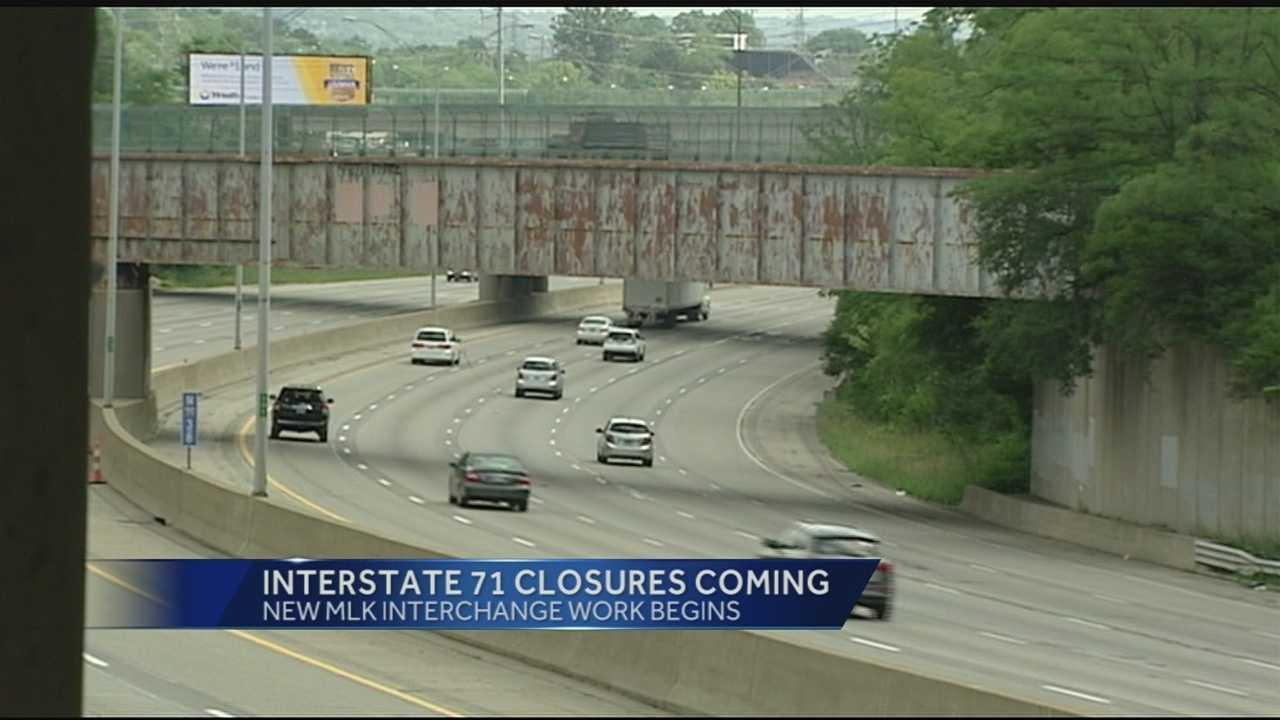 Work begins on new MLK interchange project