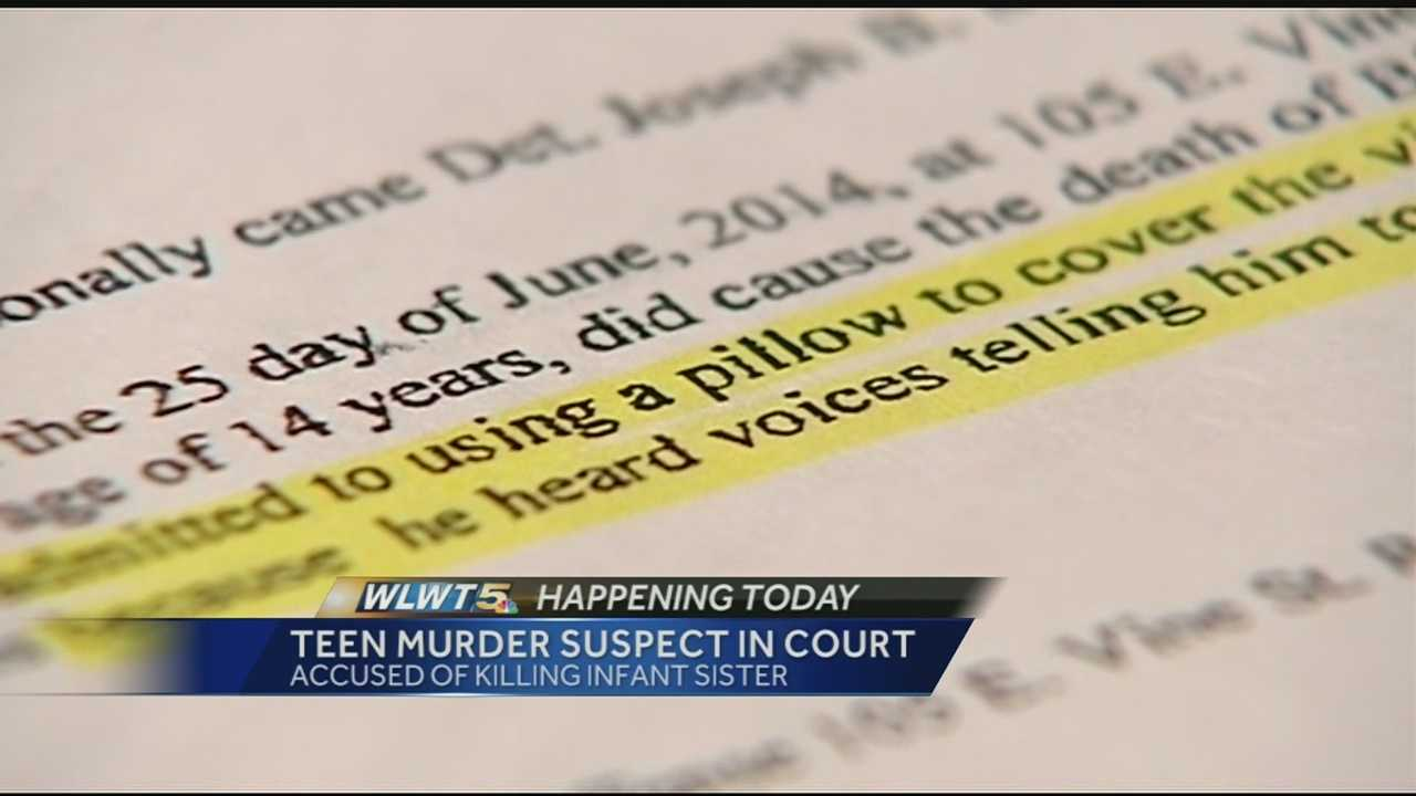 A Reading teen is accused of killing his stepsister.