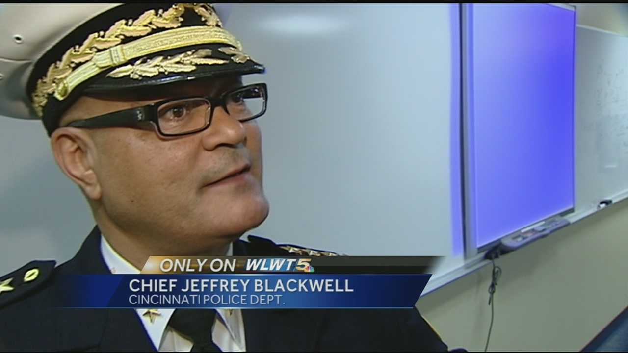 Chief Blackwell expresses goals for city's future